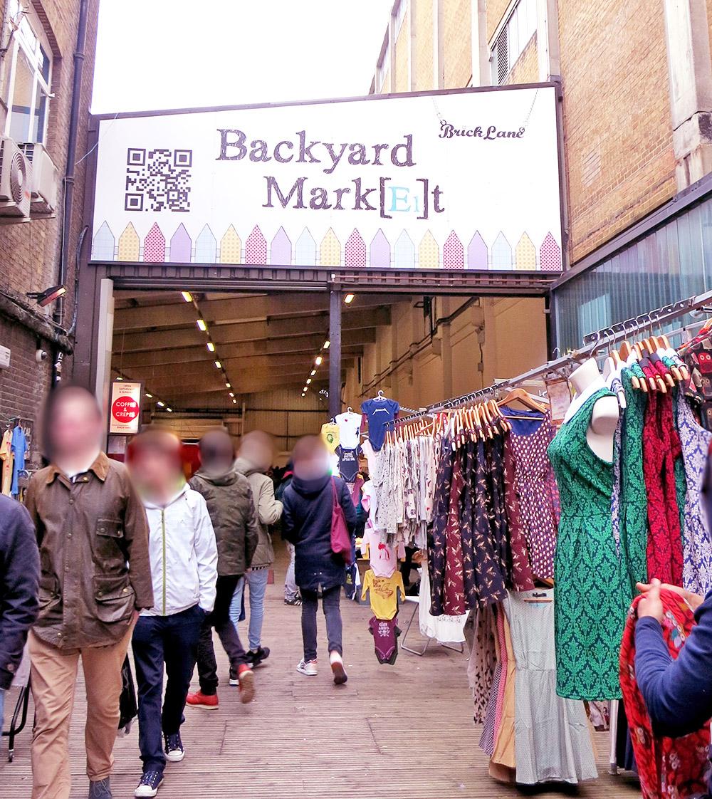 London Brick Lane Backyard Market