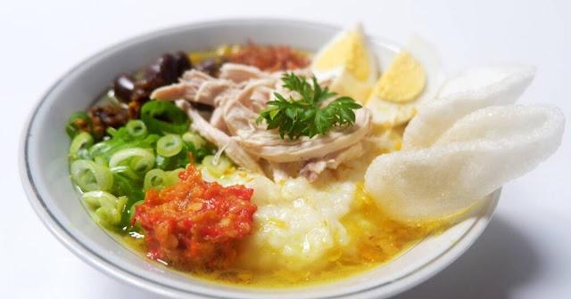 Resep Bubur Ayam Kuah Kuning yang Nikmat