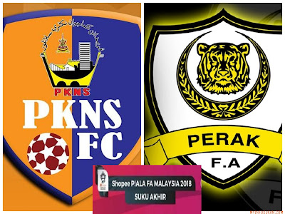 Live Streaming PKNS FC vs Perak Piala FA Malaysia 7 April 2018