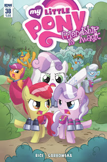MLP Friendship is Magic 38 Comic by IDW Regular Cover by Agnes Garbowska