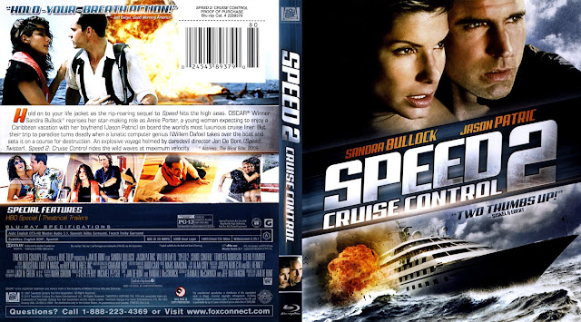 Speed 2 Cruise Control Bluray Cover