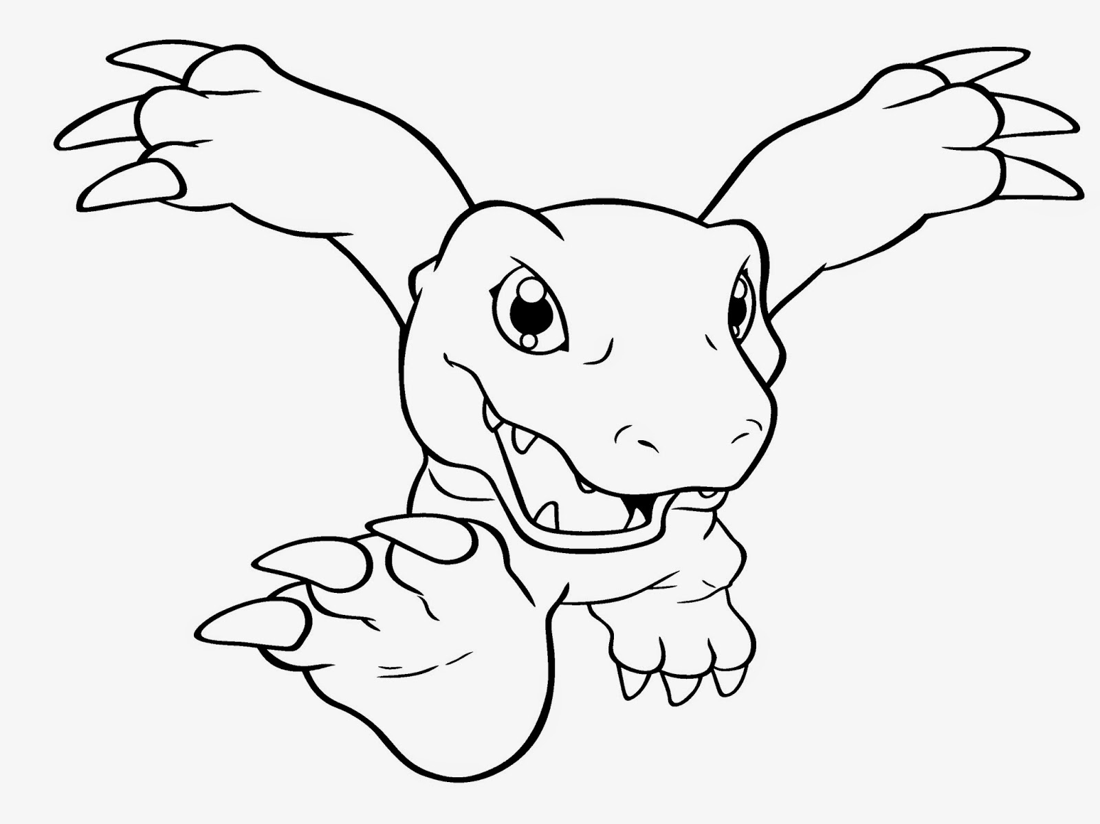 digimon data squad coloring pages - photo#35