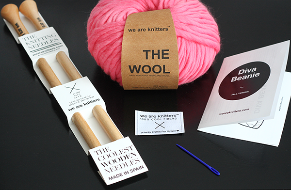 We Are Knitters, Breast Cancer Awareness, Knitting Kit