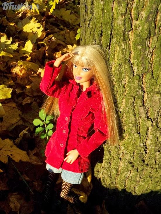 Płaszczyk dla Barbie