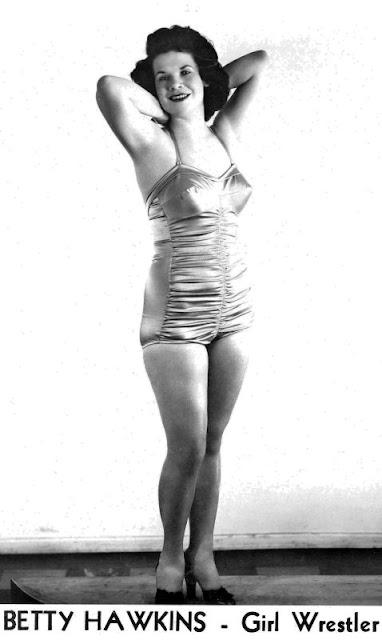 Betty Jo Hawkins - Ladies Pro Wrestling