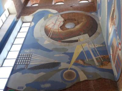 Mosaico futurista Prampolini