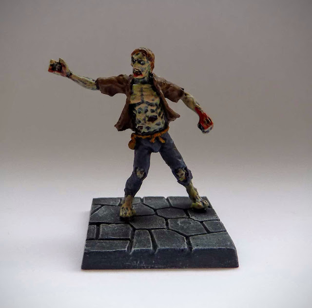 Dungeon Saga: Dwarf King's Quest painted evil dead: zombie.