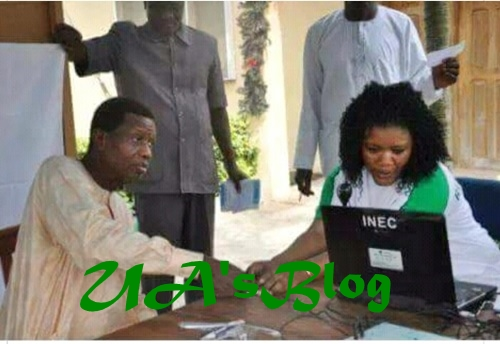 2019 Election: Photo Of Pastor Adeboye Registering For Voter's Card Emerges Online