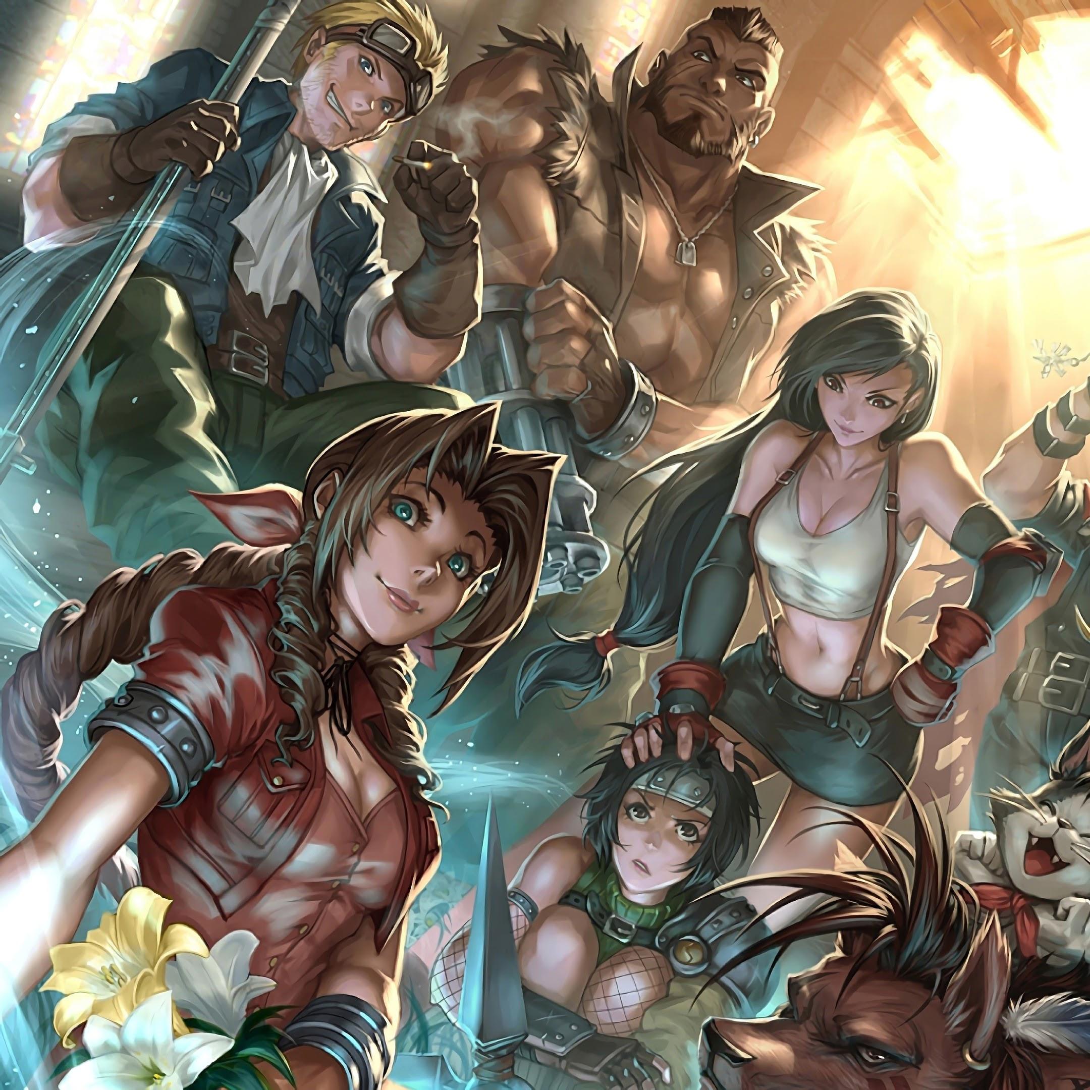 Final Fantasy 7 Remake, Characters, 4K, #40 Wallpaper
