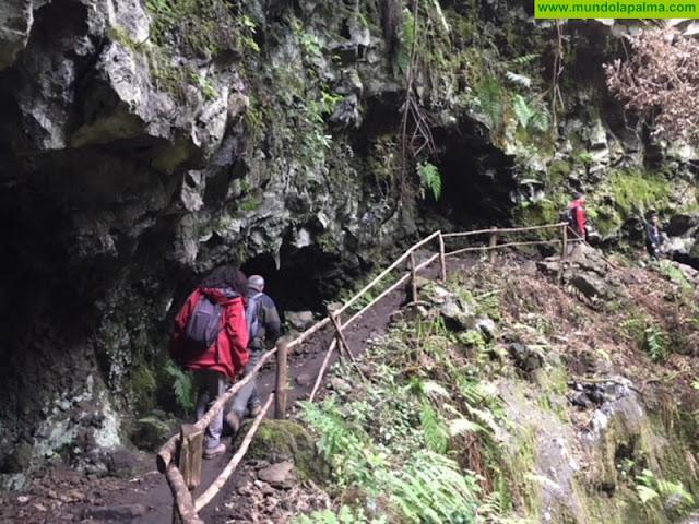 Escolares aprenden sobre los espacios naturales de La Palma