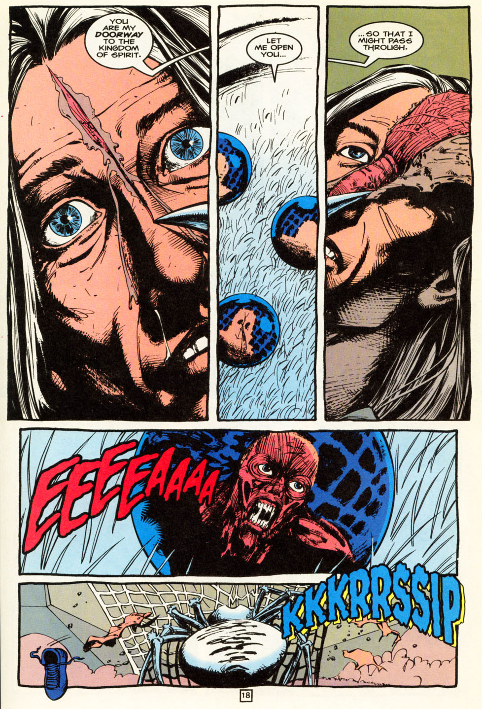 Read online Animal Man (1988) comic -  Issue #86 - 18
