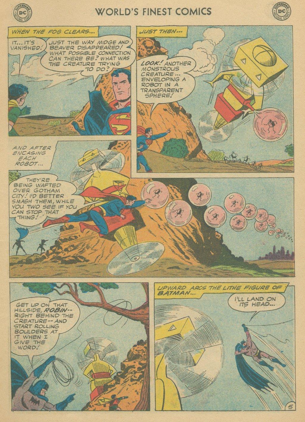 Read online World's Finest Comics comic -  Issue #108 - 7