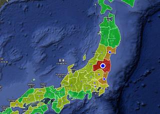 Efek Buruk Radiasi di Jepang