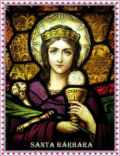 Oração milagrosa de Santa Bárbara