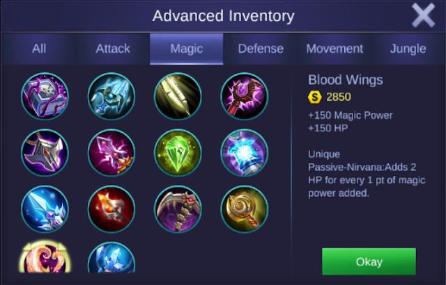 Cyclops High Damage Build Mobile Legends