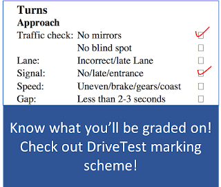 Mississauga DriveTest G Route