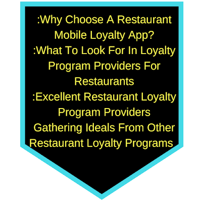 blogpost subheadings for restaurant loyalty program providers