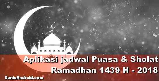 Daftar Aplikasi Jadwal imsakiyah dan sholat Ramadhan 2020