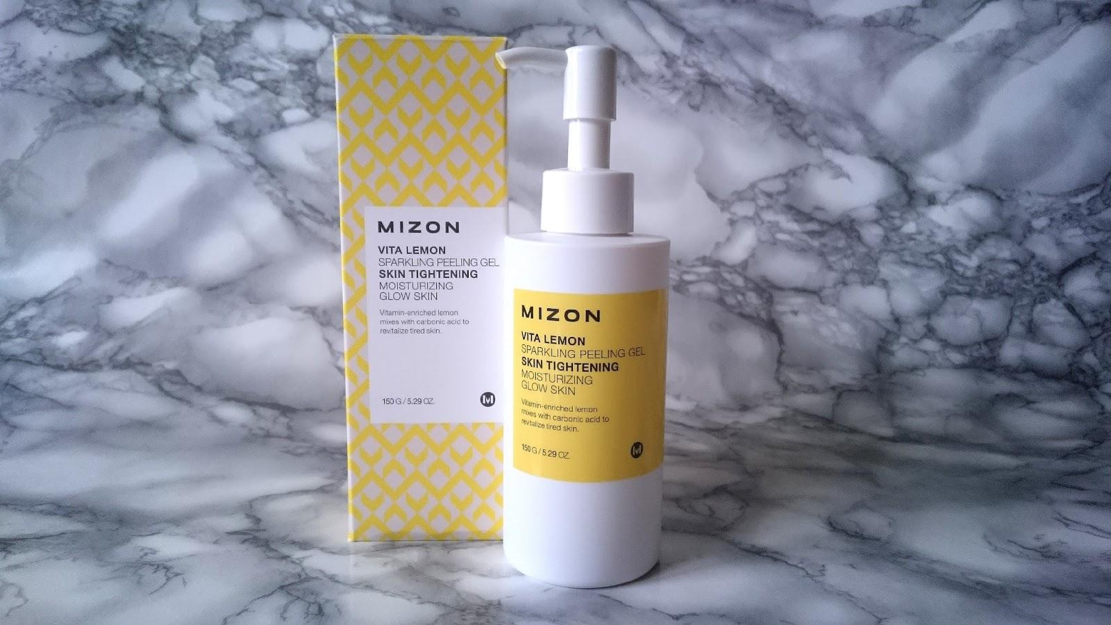 Mizon Vita Lemon Sparkling Peeling Gel opinie