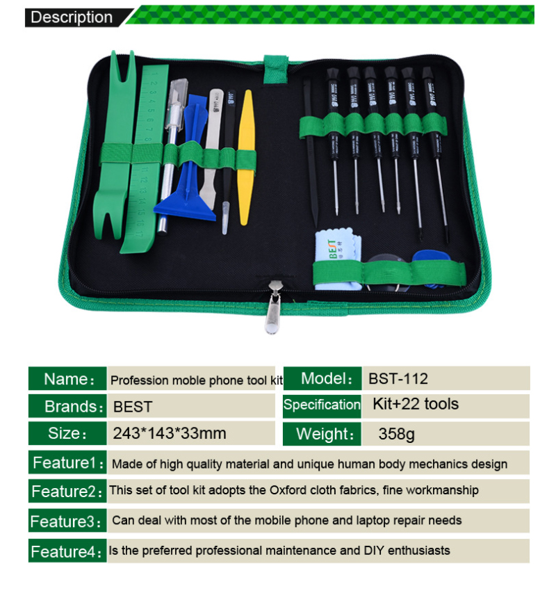 Screwdriver Hand Tools 8 In 1 Cell Phones Opening Pry Repair Tool Kit Screwdrivers Hand Tools Set For Iphone Samsung Tablet Pad Laptop Diy Fix Clear And Distinctive