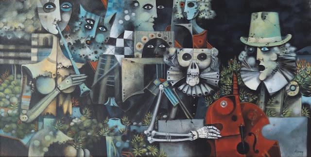 Eduard Alcoy cuadro surrealista