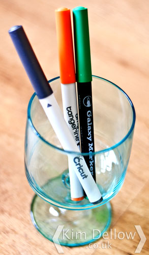 Pens you can use with the Cricut explore