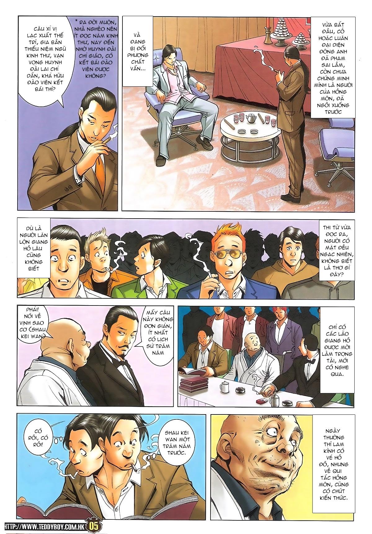 Người Trong Giang Hồ - Ngũ Hổ qui thiên - Chapter 1716: Đàm phán siêu cấp 2 - Pic 3