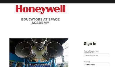 Permohonan Online bagi Honeywell Educators at Space Academy