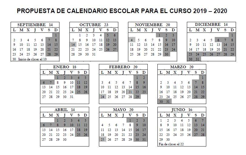 Calendario Escolar Valladolid 2020.Ceuta Educacion Calendario Escolar Para El Curso Academico 2019