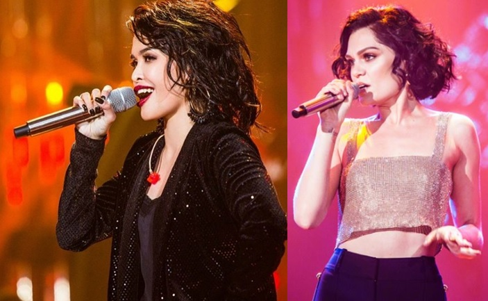 KZ Tandingan competes with her 'idol' Jessie J