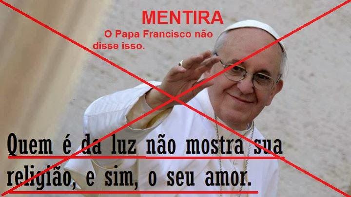 Icatolicacom Boato De Internet Espalha Mentiras Sobre O Papa Francisco
