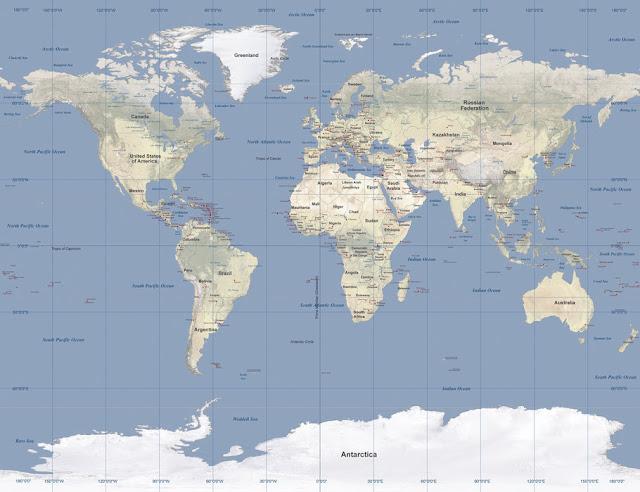 Maailmankartta tapetti karta world map Valokuvatapetti