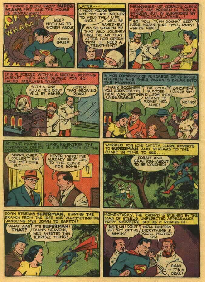 Read online Action Comics (1938) comic -  Issue #26 - 14