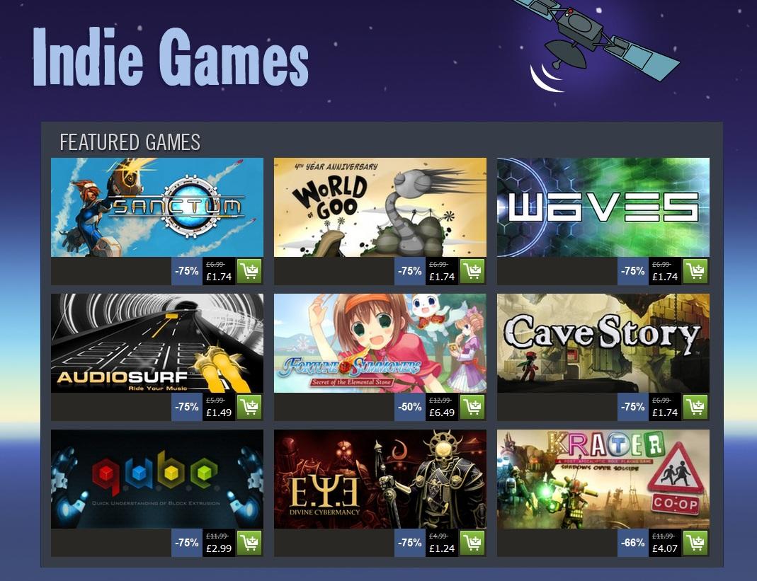 Indie Retro News Steam Indie Game Deals Are Alive