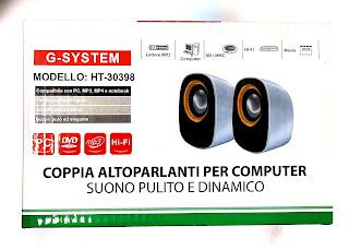 multimedia speaker altoparlanti g106 on tenk 30398
