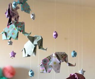 fillerden Origami Tavan Süsleri