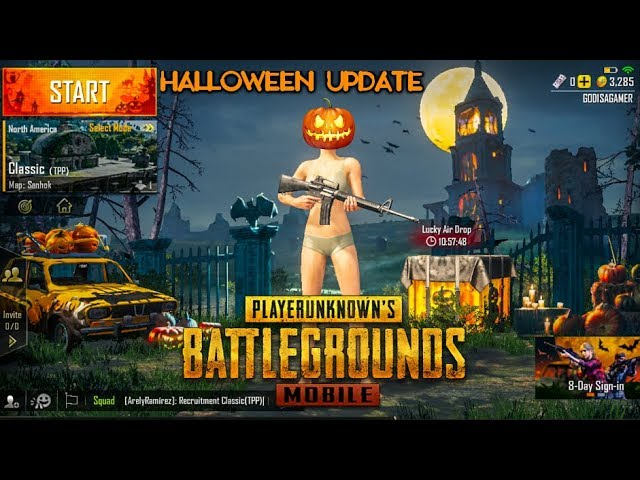 PUBG Mobile New Update 0.9.0 Halloween