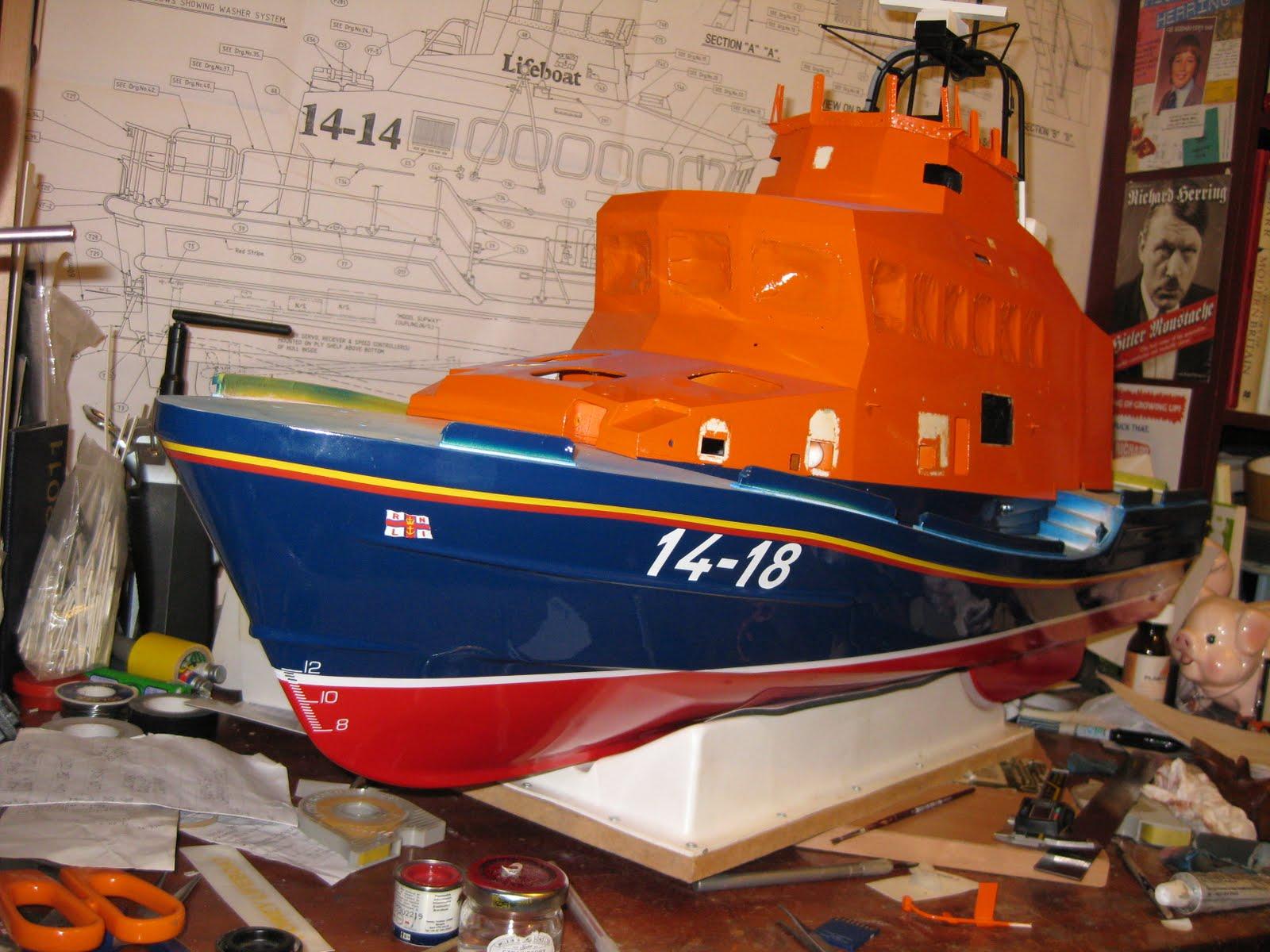 Model Lifeboats 2011