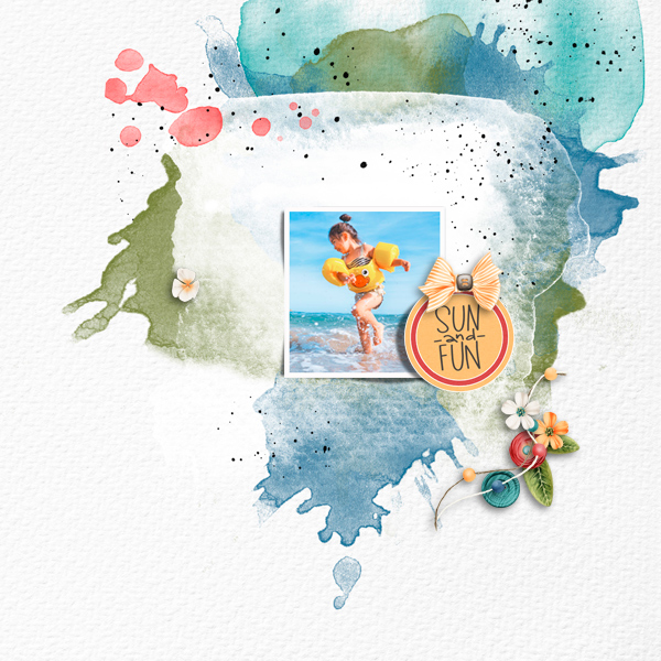 sand and fun © sylvia • sro 2018 • saltwater summer by jumpstart designs