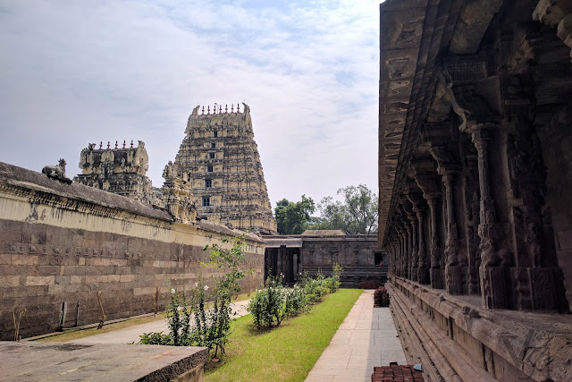 Pillared Corridors inside the Temple complex