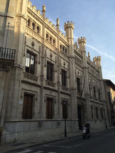 Parlamento, Palma de Mallorca.
