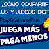 COMPARTIR PS PLUS Y JUEGOS DIGITALES EN PS4 - VIDEOTUTORIAL