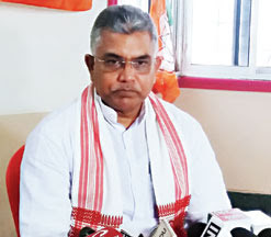 Dilip Ghosh, the state BJP president