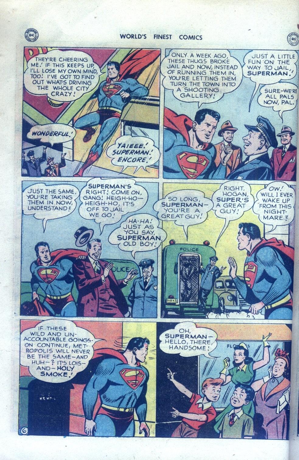 Read online World's Finest Comics comic -  Issue #43 - 8