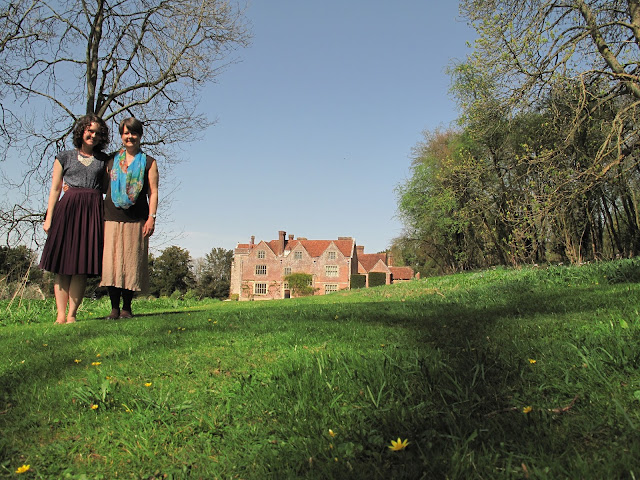 Jane also loved to walk to Chawton House – and so do we!