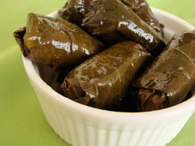Vine Leaves with Lentil
