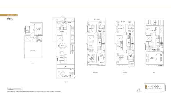 Jazz Residences Floor Plan 4G
