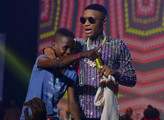 Entertainment: Wizkid signs young Ahmed to his label, pledges N10m [VIDEO]