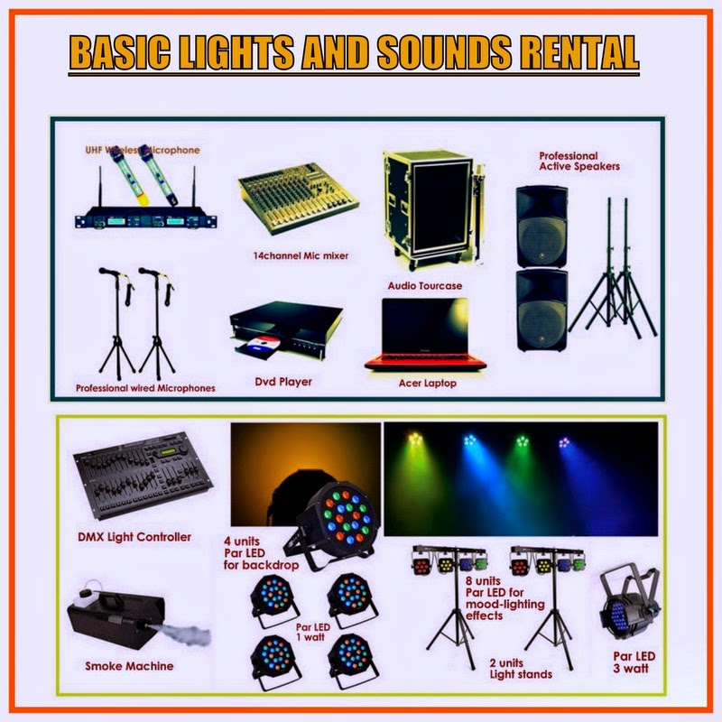 lights and sounds rental for wedding debut birthday party with professional dj manila lights. Black Bedroom Furniture Sets. Home Design Ideas