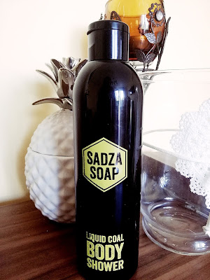 Recenzja: Sadza Soap Body Shower- Żel pod prysznic z węglem aktywnym